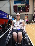 Isabel Martin at the Kilsyth Sports Centre in July 2016