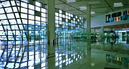 Terminal of Islamabad International Airport Islamabad International Airport Departure.jpg