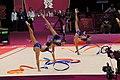 Israel Rhythmic gymnastics at the 2012 Summer Olympics (7915076518).jpg