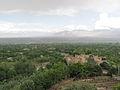 Istalif Village Roadside view over Shamali Plain, Kabul Province, Afghanistan.JPG