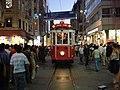 Istiklal caddesi tramvay.JPG