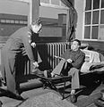 Italian Prisoners of War in Britain- Everyday Life at An Italian POW Camp, England, UK, 1945 D26761.jpg