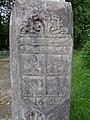 Izeste, Pyrénées Atlantiques, France, croix rue du Moulin, détail DSC07748.jpg