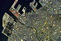 Izumiotsu city center area Aerial photograph.1985.jpg