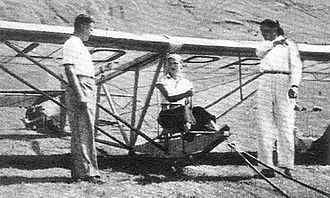 Jadwiga Piłsudska - Learning to fly, aged 17