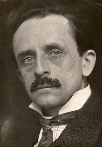 J. M. Barrie - J. M. Barrie by George Charles Beresford, 1902