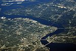 File:JACKSONVILLE FROM 767 N832MH FLIGHT MCO-ATL (7261126788).jpg