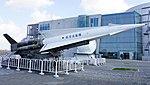 JASDF Nike-J missile launcher right front view at Hamamatsu Air Base Publication Center November 24, 2014.jpg