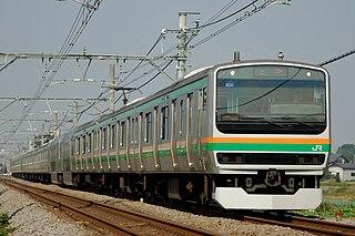 Takasaki Line Railway line in Japan