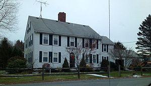 Joseph Richardson House (Uxbridge, Massachusetts) - Image: J Richardson House, Uxbridge, MA