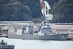 JS Fuyuzuki(DD-118) right front view at JMU Maizuru Shipyard April 13, 2019 05.jpg