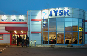 Jysk (store) - Jysk store in Sweden