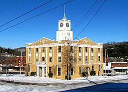 Jackson County Courthouse i Gainesboro.