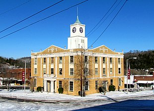 Jackson County Courthouse in Gainesboro