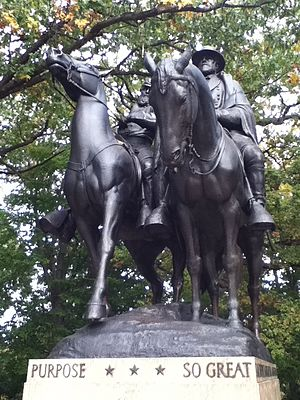 Jackson and Lee Monument, Front.JPG