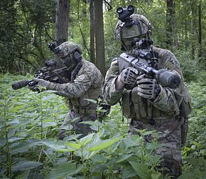 Jagdkommando - Two soldiers of the Jagdkommando