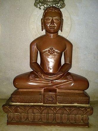 Pushpadanta - Pushpadanta statue at Anwa, Rajasthan