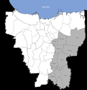 Daftar Kecamatan Dan Kelurahan Di Kota Administrasi Jakarta Timur Wikipedia Bahasa Indonesia Ensiklopedia Bebas