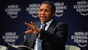 Tanzanian general election, 2015 - Image: Jakaya Kikwete Partnerships for Development World Economic Forum on Africa 2011 1