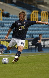James Henry playing for Millwall in 2010.