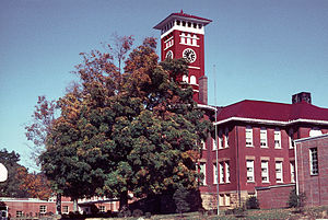 Tracy City, Tennessee - Image: James K. Shook School