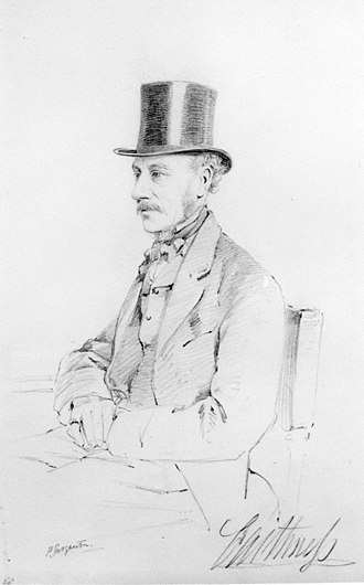 James Sinclair, 14th Earl of Caithness - The 14th Earl of Caithness by Frederick Sargent