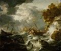Jan Peeters (I) - Ships in Trouble near the Coast.jpg
