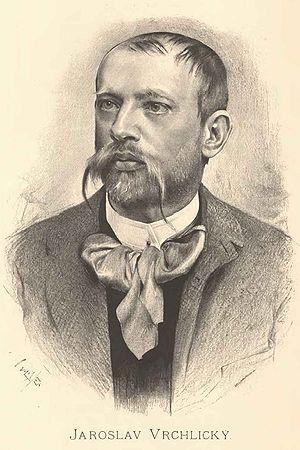 Jaroslav Vrchlický - Portrait of Jaroslav Vrchlický by Jan Vilímek