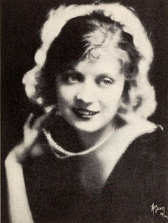 Jane Novak - In 1921, photographed by Frederick Seely