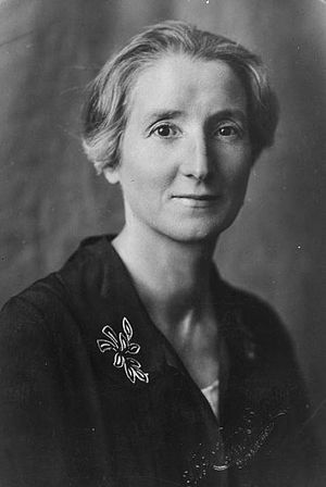 Spouse of the Prime Minister of New Zealand - Janet Fraser, wife of Peter Fraser.