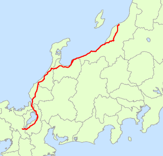 Japan National Route 8