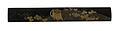 "Japanese - Kozuka with A Traveling Case and Ivy (""Tales of Ise"") - Walters 51845.jpg"