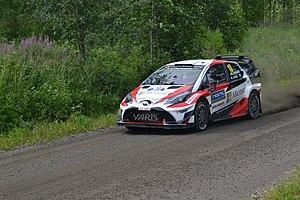 2017 World Rally Championship - Toyota returned to the World Rally Championship in 2017 with the Toyota Yaris WRC.