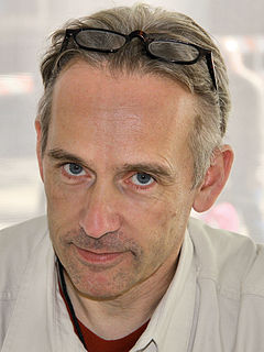 Jasper Fforde British novelist