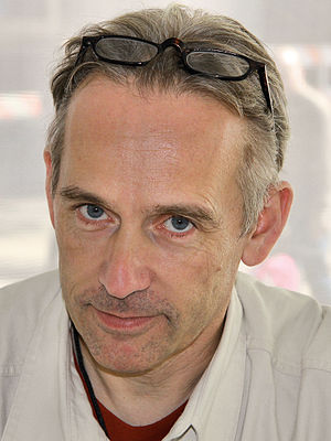 Jasper Fforde - Fforde at the 2012 Texas Book Festival