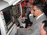 Jay tries Boeing's virtual tanker simulation (4679340217).jpg
