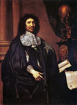 Jean-Baptiste Colbert - Colbert en grande tenue with insigna of Knight of the Holy Spirit