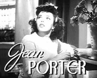 Jean Porter - Porter in the trailer for Twice Blessed (1945)