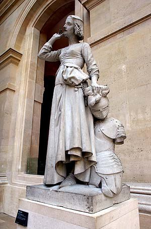 François Rude - Jeanne d' Arc Listening to Her Voices, by François Rude (1845). Louvre museum