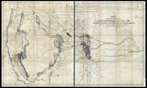 George Gibbs (ethnologist) - Image: Jedediah Smith map by George Gibbs WDL