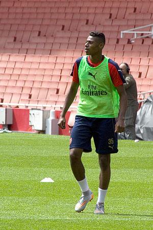 Jeff Reine-Adélaïde - Jeff Reine-Adelaide training with Arsenal