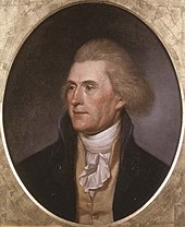 Thomas Jefferson, Charles Willson Peale, Philadelphie, 1791