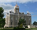 Jefferson County, Nebraska courthouse from NE 2.JPG