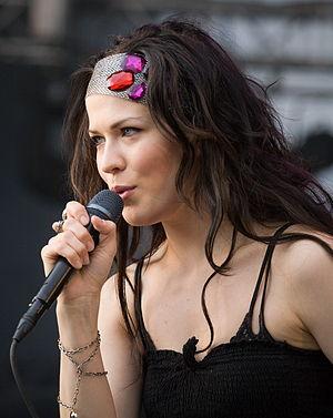 Jenni Vartiainen - Jenni Vartiainen in 2008.