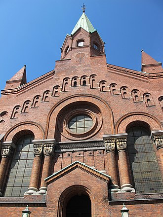 Jerusalem's Church, Copenhagen - Image: Jerusalemskirken in Copenhagen 1