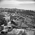 Jeruzalem. Gezicht op de citadel met de Jaffapoort en de toren van David met lin, Bestanddeelnr 255-1618.jpg