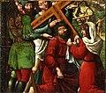 Jesús con la cruz a cuestas, del Maestro de Sigena (Museo de Zaragoza).jpg
