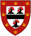 Jesus College (Cambridge) shield.svg