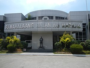 Marilao, Bulacan - Façade of the Marilao Municipal Hall