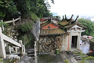 "Jinjiang, Fujian - Cao'an Temple on Huabiao Hill near downtown Jinjiang, ""a Manichean temple in Buddhist disguise"", is thought to be ""the only extant Manichean temple in China""."